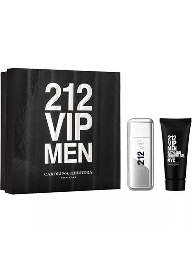 Carolina Herrera 212 Vip Men Edt 100 Ml Erkek Parfüm Set Renksiz